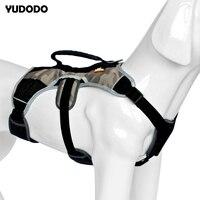 Sicherheit Reflektierende Große Hundegeschirr Professionelle Schnelle Steuer Pet Hunde Training Weste Verstellbarer Brustgurt