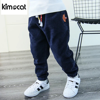 bibicola children spring autumn winter warm thicken pants baby boys girls thicken velvet trousers kids casual cotton clothes Kimocat Autumn Spring Pants Children Keep Warm Bottoms Child Winter New Fashion Baby Corduroy Pants Boys Thicken Solid Trousers