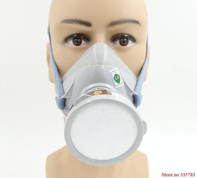 5 UNIDS YIHU respirador máscara de gas De Alta calidad de la tecnología de la Patente máscara de filtro de carbono pintura rociar plaguicidas de seguridad industrial máscara de gas