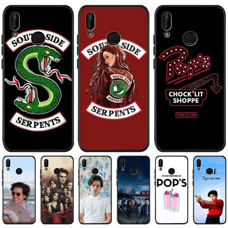 American TV Riverdale For Huawei P8 P10 P20 P30 Mate 10 20 Honor 8 8X 8C 9 10 Lite Plus Pro Case Cover Coque Etui Funda Luxury