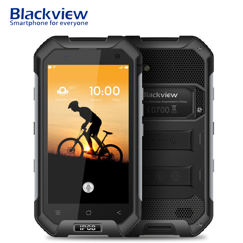 Blackview BV6000S 4.7 Inch Smartphone IP68 Waterproof Android 6.0 2GB RAM 16GB ROM Quad Core NFC 4500mAh 4G LTE Mobile Phone