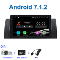 9 Android 7.1 Car DVD Radio multimedia for BMW E39 M5 E38 E53 with WiFi BT GPS