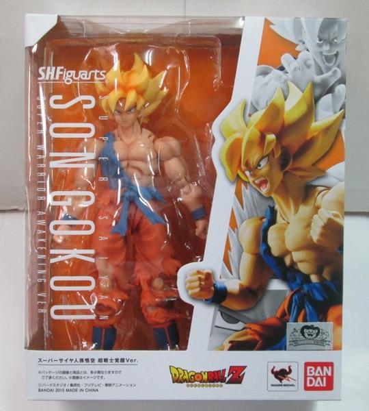WSTXBD BANDAI Dragon Ball Z SHF Wake Goku 2.0 Action Figure Juguetes Model Brinquedos Kids Toys Figurals цена 2017