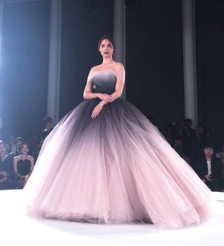 Off the Shoulder Ombre Prom Dresses 2020 Unique Ball Gown Long Formal Evening Dress vestidos de fiesta largos elegantes gala - discount item  15% OFF Special Occasion Dresses