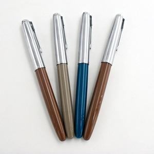 Image 3 - Wing Sung 601a 0.5mm Fine Nib Vacumatic Vulpen Metal + ABS Body Zilver Cap