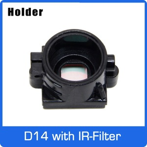 D14 Крепление Держатель PC + 30% GF с 650nm ИК-фильтр для D14 плата объектив Поддержка 20 мм Отверстие Расстояние Модуль платы блока программного управ...