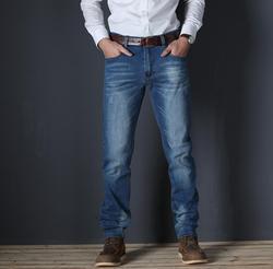 2019 beiläufige Dünne Stretch Jeans Denim Hosen Hosen Für Männer Hohe Qualität