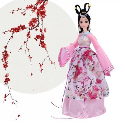 2019 Mode Speciale Aanbieding Chinese Traditionele Pop 12 Gewrichten Poppen Voor Meisjes Speelgoed Voor Kinderen Kid Verjaardagscadeau Meisje Speelgoed