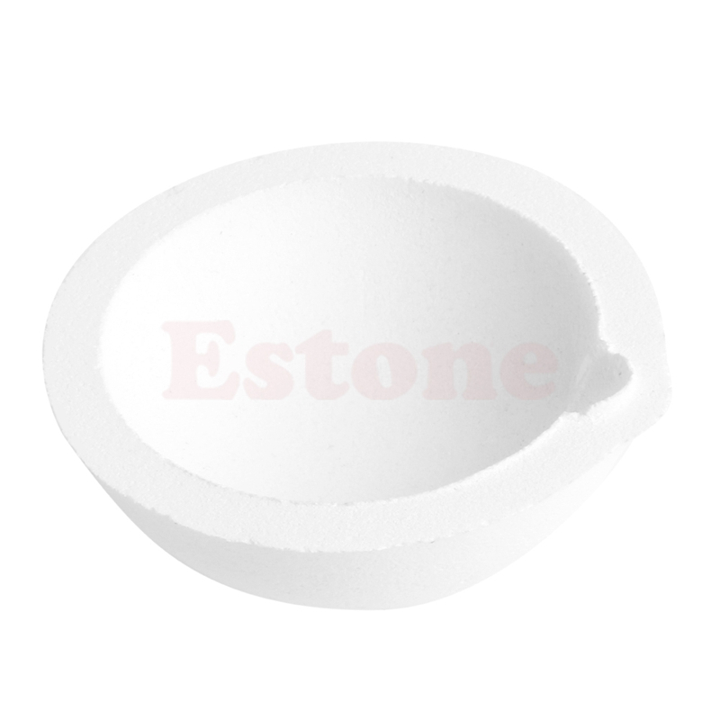 New 150 Grams High Temperature Quartz Silica Melting Crucible For Jewelry Tools