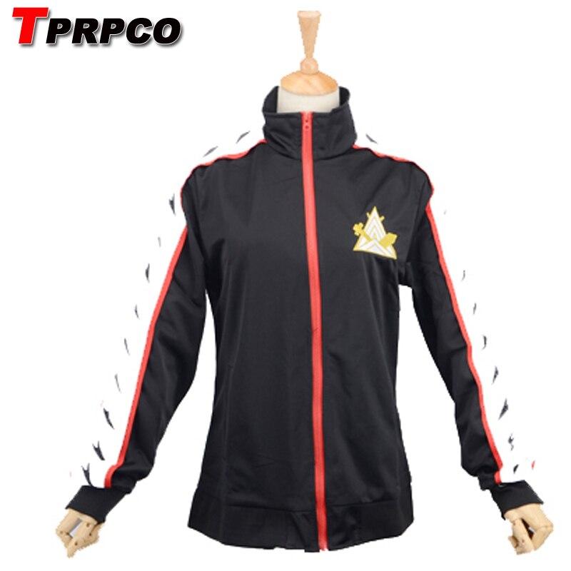 TPRPCO Free! - Iwatobi Club Rin Matsuoka Deluxe Edition Uniform Jacket Coat Suit Cosplay Costume Samezuka Academy Logo N1801