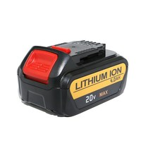 Replacement Battery 20V 3.0Ah 20 Volt Max Lithium Battery Pack With Fuel Meter Compatible For DCB180 DCB181 DCB200