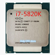 Free shipping for intel  I7 5820K Packed I7 CPU X99 motherboard supports six  processor DDR4