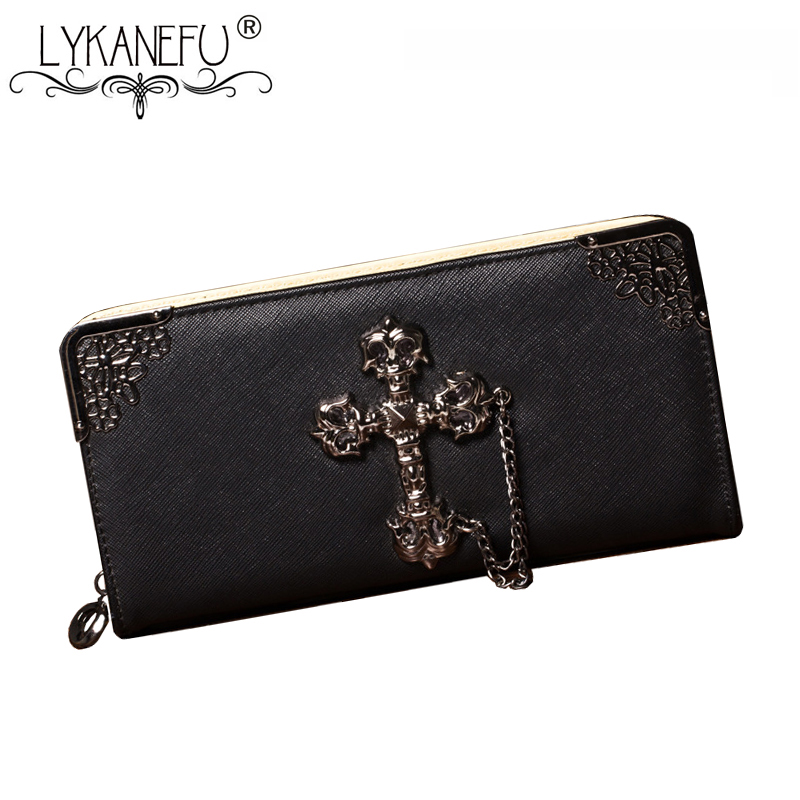 LYKANEFU Fashion Cross Designer Women Wallets Long Women Clutch Purses Ladies Wallet Purse Female Carteira Feminina Day Clutches lykanefu fashion cross designer women wallets long women clutch purses ladies wallet purse female carteira feminina day clutches