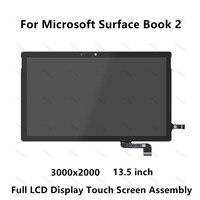 Для microsoft поверхность книга 2 (13,5 дюймов) полный ЖК дисплей светодиодный Дисплей Панель Сенсорный экран Стекло дигитайзер сборки 3000x2000 ips Пан