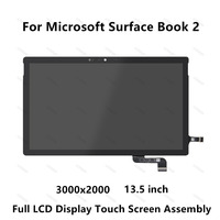For Microsoft Surface Book 2 (13.5 inch) Full LCD LED Display Panel Touch Screen Glass Digitizer Assembly 3000x2000 IPS Panel