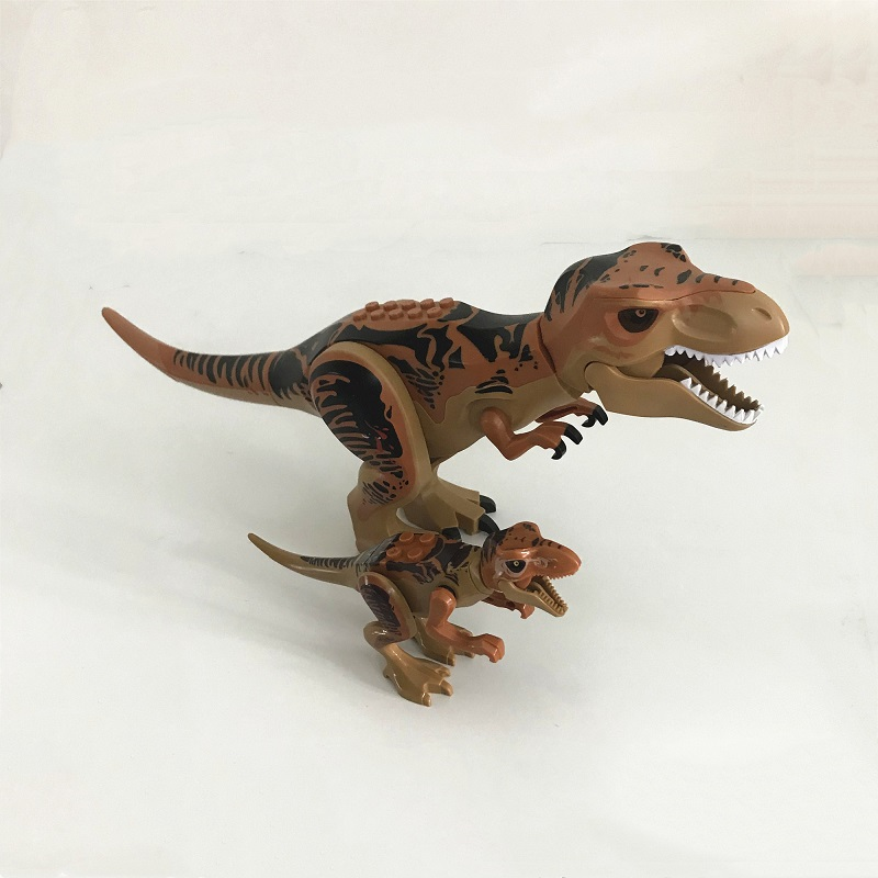 rex velociraptor ridgeback modelo bloco de construção conjunto 2018 venda quente