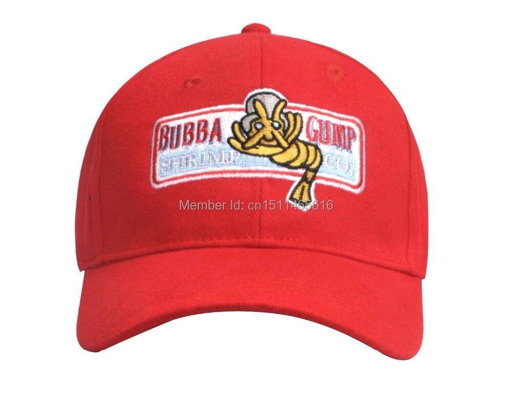 Bubba Gump 새우 공동 야구 모자 포레스트 톰 행크스 할로윈 파티 모자 무료 배송