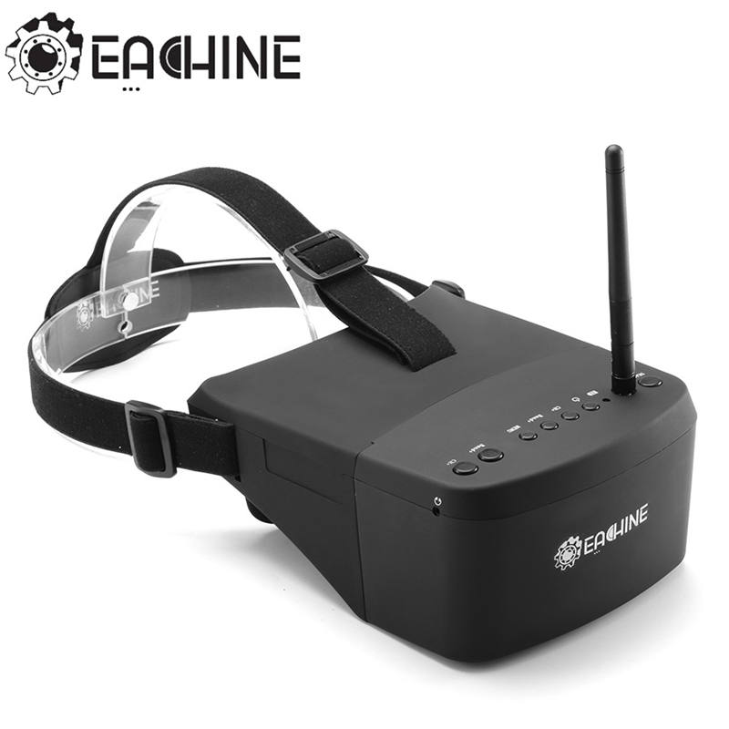 In Stock Eachine EV800 5 Inches 800x480 FPV Goggles 5.8G 40CH Raceband Auto-Searching Build In Battery VS EV100 Fatshark Aomway in stock new arrival eachine ev800 5 inches 800x480 fpv goggles 5 8g 40ch raceband auto searching build in battery