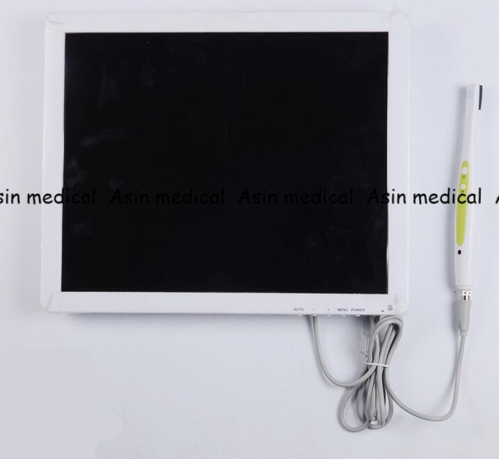 New Arrival High Definition Digital Dental Equipment AIO LCD Monitor + Dental Intra oral Camera WI-FI 17 Inches 2016 intra oral dental photography mirror buccal adult dbl sided glass chromium new toiletry kits