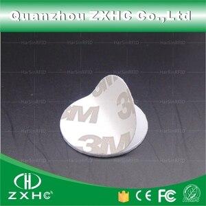 Image 2 - (1000 sztuk) 25mm 125 Khz karty rfid ID 3M naklejki monety karty TK4100 Chip kompatybilny EM4100 do kontroli dostępu