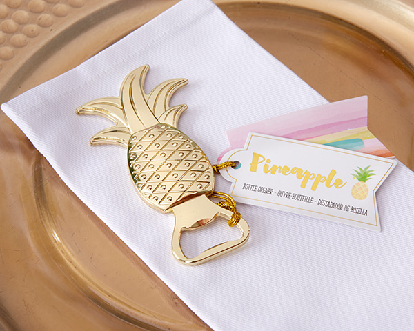 20 Pieceslot 2016 Newest Wedding Gift Of Gold Pineapple Bottle