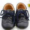 Newborn Baby Boys Girls First Walkers Shoes 3 Colors Toddler Infant Shoes Lace-Up Brand PU Leather New Arrive