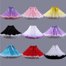 New Summer Micro Skater Mini Tutu White Skirt For Woman Party Dance Lolita Petticoat Womens Faldas Saia Jupe Courte