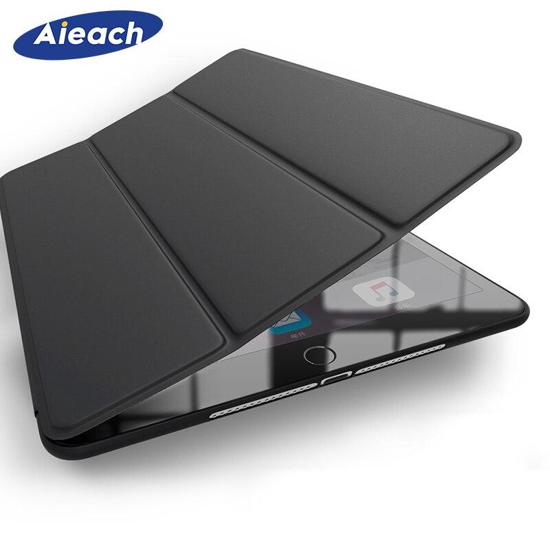 Pour Apple iPad Air 2 Air 1 9.7 pouces étui Ultra mince en cuir PU Silicone dos intelligent support magnétique couverture pour iPad Air 3 10.5 2019