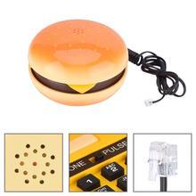 Новинка emulagation гамбургер телефонный провод стационарный телефон домашний декоративный телефон провод