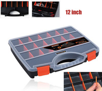 12 inch high grade plastic parts boxes, storage compartments storage tools, electronic components storage box