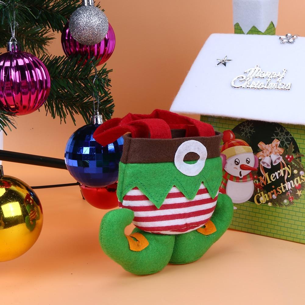 Elf Christmas Gift Bags.Christmas Decoration For Home Elf Candy Bag Christmas Gift