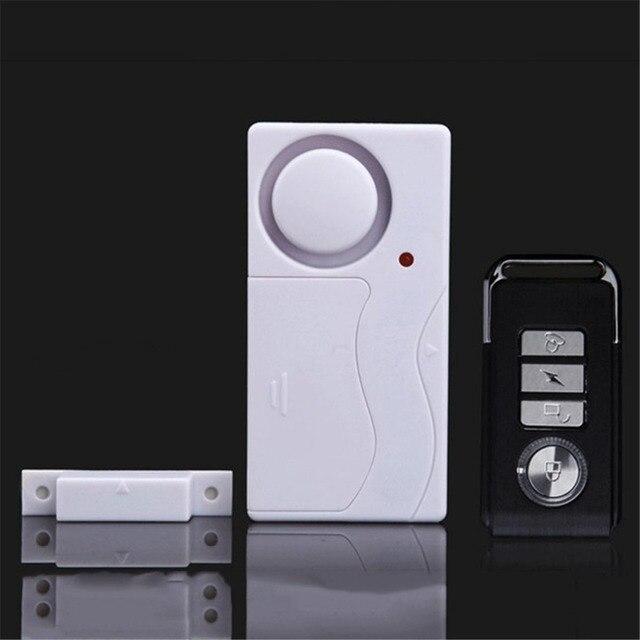 Best Price Wireless Remote Control Door Sensor Alarm Door Window Detector Sensor Burglar Alarm Security Alarm System Home Protection Kit
