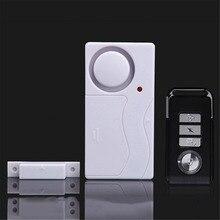 Wireless Remote Control Door Sensor Alarm Door Window Detector Sensor Burglar Alarm Security Alarm System Home Protection Kit