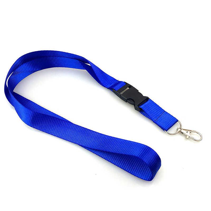 Violet voiture clé lanière porte-badge téléphone Mobile sangle lanière cou sangle pour Huawei USB bricolage accrocher corde pour clés carte d'identité