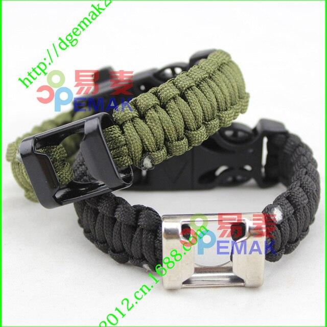 US $3 9 |Multi function Corkscrew Fashion Design paracord survival bracelet  di dari AliExpress com | Alibaba Group