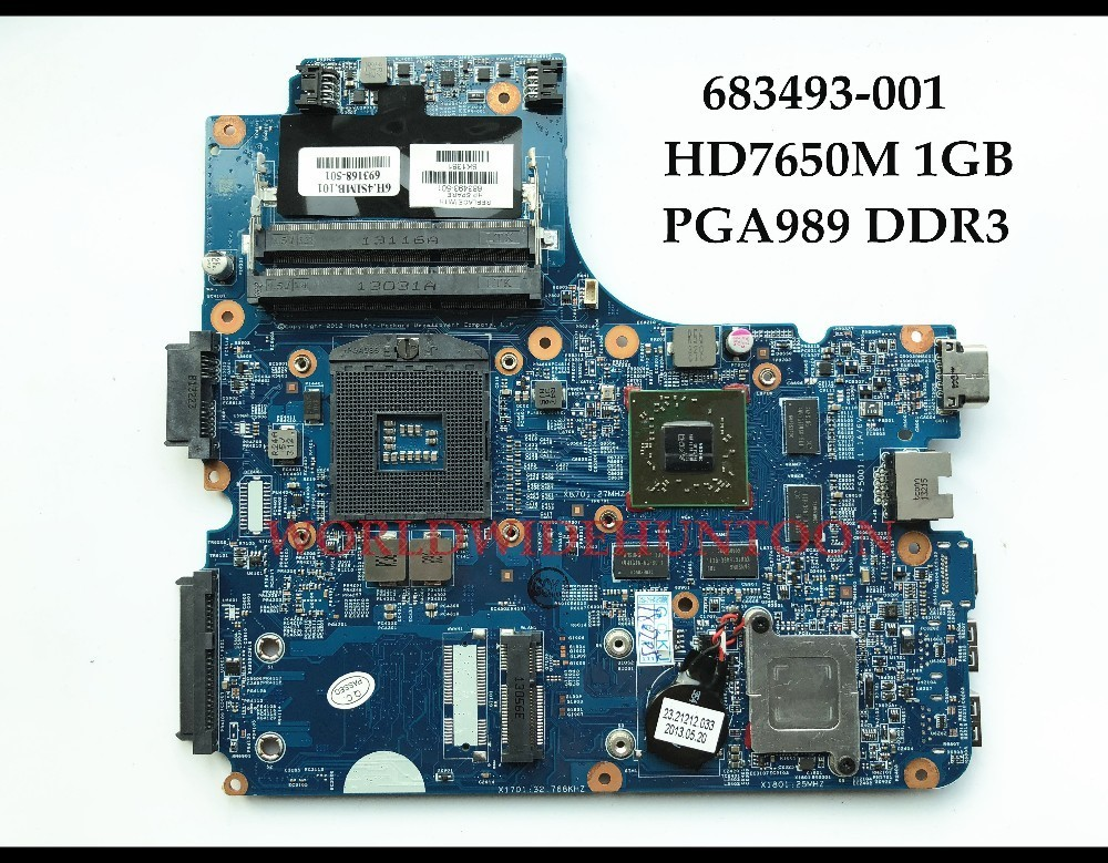 High quality FOR HP Probook 4440s 4441s 4740s 4540s Laptop Motherboard 683493-001 HM76 PGA989 DDR3 HD7650M 1GB Fully Tested купить недорого в Москве