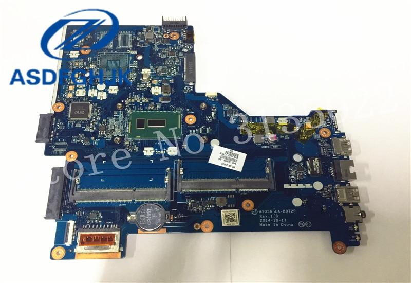 Carte mère d'ordinateur portable 790668-501 pour HP pour carte mère pavillon 15-R LA-B972P SR23Y DD3L intégré 100% Test ok