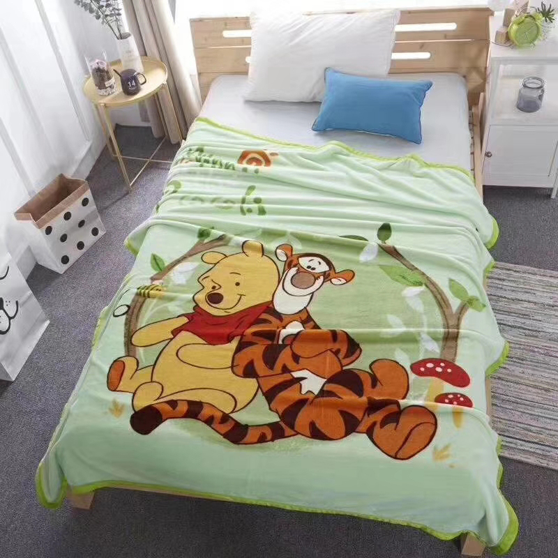 Strange Us 27 99 30 Off Disney Cartoon Winnie And Tiger Princess Elsa Anna Flannel Blanket 150X200Cm On Bed Sofa Couch Cobertores De Cama In Blankets From Onthecornerstone Fun Painted Chair Ideas Images Onthecornerstoneorg