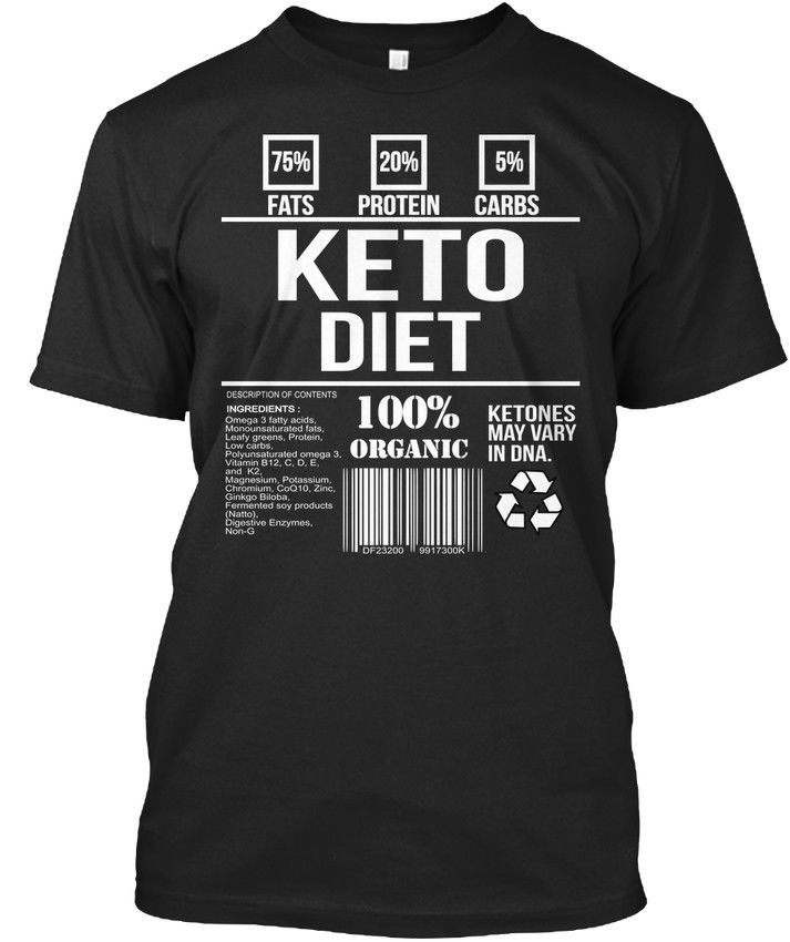 2019 Summer Style Brand Casual O-Neck Male Tops & Tees Keto Diet Custom T Shirts