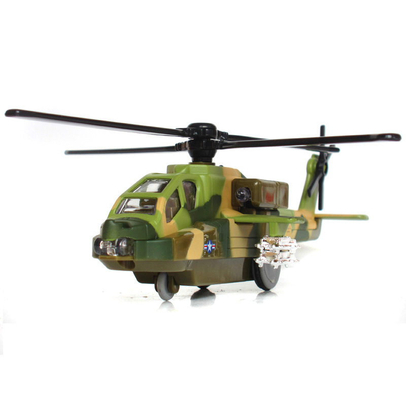 Alloy Acousto - Optic Apache Military Helicopter Return Aircraft 8120