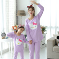 Christmas Pajamas Mother and Daughter Clothes Girls Pyjamas Hello Kitty Family Matching Pajamas Family Look