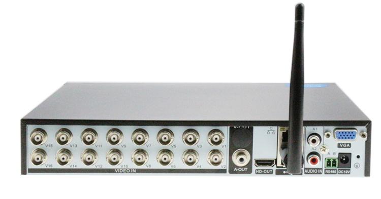 XMeye Hi3521A 16 Channel 16CH 1080N 5 in 1 Coaxial Hybrid Wifi TVi CVI IP NVR AHD DVR picture 05