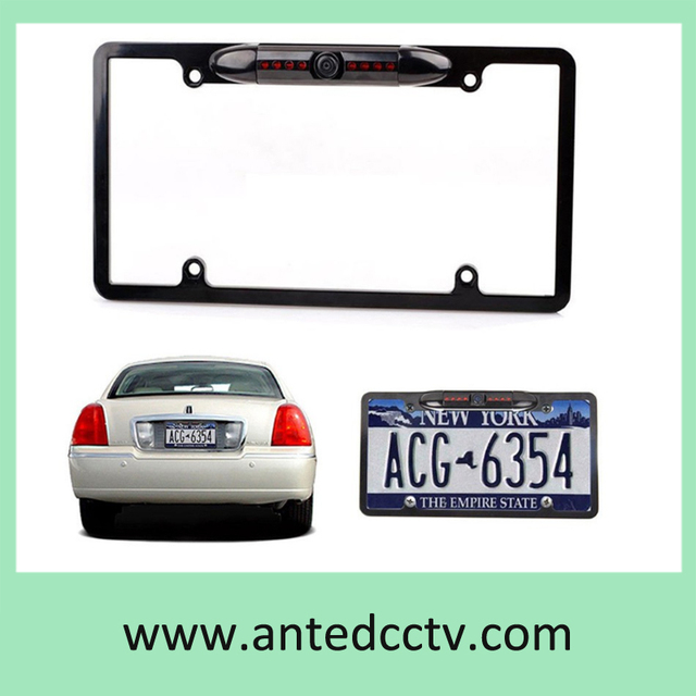 10pcs/Lot US License Plate Frame Car Rear View camera,car parking ...