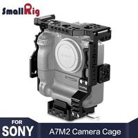 SmallRig A7M2 Камера клетка для sony A7II/A7SII/A7RII с Батарейная ручка с НАТО Rail Arri установочными отверстиями для DIY вариант 2031