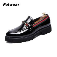 Men casual shoes mocassin homme Luxury Patent Leather Men Tassel Loafers Tenis Feminino Zapatos De Mujer Fashion design style цены онлайн