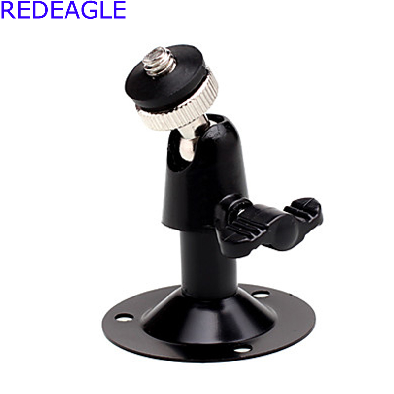 REDEAGLE 3Pcs/Lot Wall Mount Bracket Installation Metal Holder CCTV Camera Stand with Screws For Security Surveillance Camera bullet camera tube camera headset holder with varied size in diameter