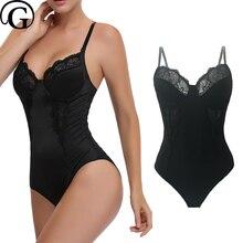 Sutiã shaper renda espartilho novo levantador de mama bodysuits mulheres emagrecimento corpo inteiro sexy espólio escultura cintura roupa interior