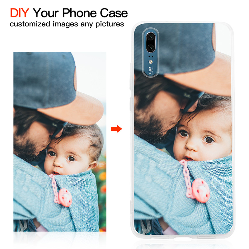 Customized DIY Phone Case Printed Soft Clear Cover Case For iphone 6 6s 7 8 Plus X XS XR XS Max For Samsung S7 S7 Edge S8 S9(China)