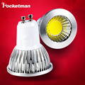 1pcs Super Bright 3W 5W 7W GU10 LED Bulb Spot Light Lamp 110V 220V Dimmable LED GU10 E27 MR16 Recessed Lighting Warm Cold White