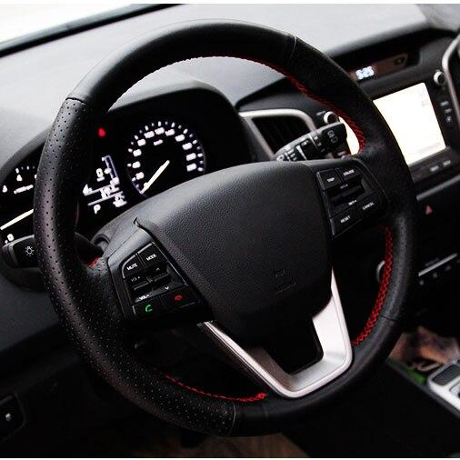 Արհեստական Կաշի մեքենայի ղեկի - Ավտոմեքենայի ներքին պարագաներ - Լուսանկար 2